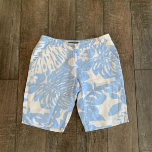 Tommy Bahama 100% Linen Hawaiian Shorts